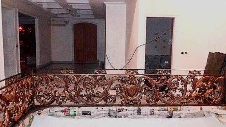 railing balkon klasik