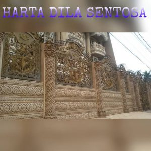 railing besi tempa