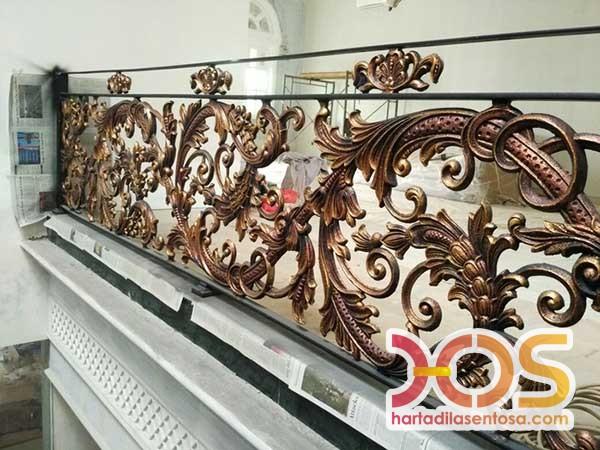 Railing Balkon Besi Tempa