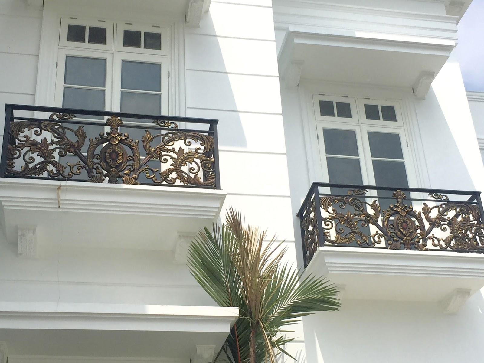 Pagar Balkon Minimalis Pilih Bahan Kayu Atau Besi Spesialis