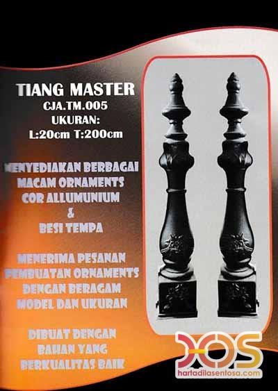 Tiang Master Besi Tempa