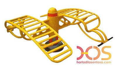 4. Double Sit Up Board Outdoor