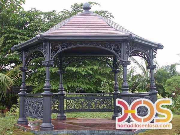 Model Gazebo Besi Klasik