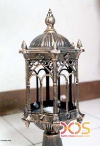 Lampu Besi Tempa Antik Klasik