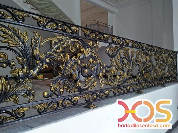 Gallery Railing Tangga Besi Tempa Klasik Mewah Spesialis Pagar