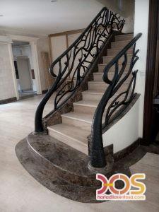 Railing Balkon Besi Tempa Klasik Mewah Modern 90