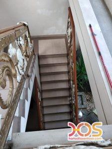 Railing Balkon Besi Tempa Klasik Mewah Modern 99